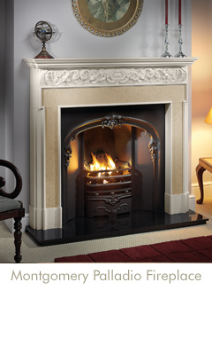 Montgomery Palladio Fireplace